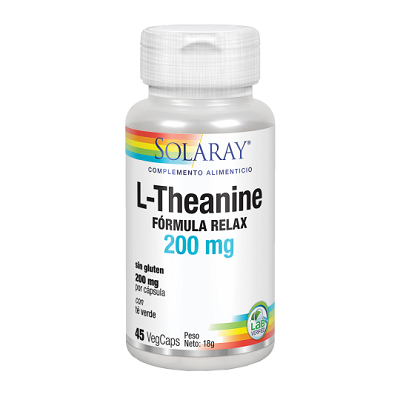 Theanine 200 mg. - Solaray - 30 COMP SUBLINGUALES