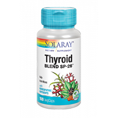 Thyroid Blend - Solaray - 100 cápsulas
