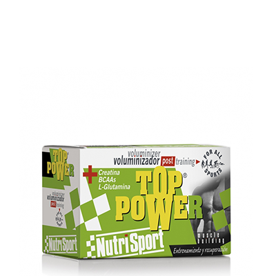 Top Power Fresa - NutriSport - 24 sobres
