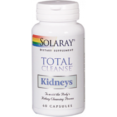 Total Cleanse Kidney - Solaray - 60 cápsulas