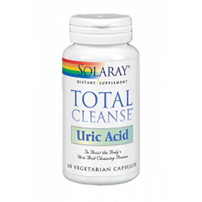 Total Cleanse Uric Acid - Solaray - 60 cápsulas