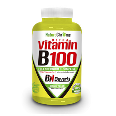 Ultra Vitamin B100 - Beverly - 60 perlas