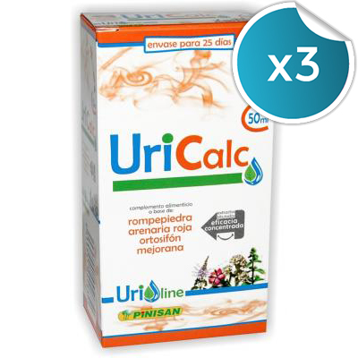 Uricalc - Pinisan - 50 ml. (Pack 3 unidades)
