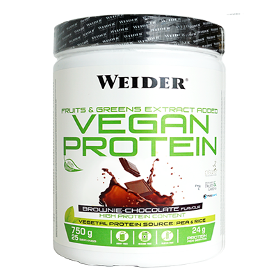 Vegan Protein Chocolate - Weider - 540 g.