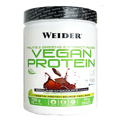 Vegan Protein Chocolate - Weider - 750 g.