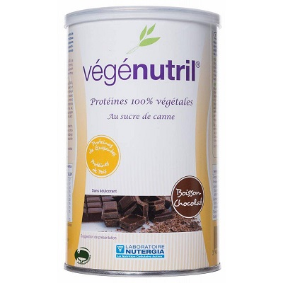 VEGENUTRIL Chocolate - Nutergia - 350 gr.