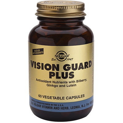 VISION GUARD PLUS - Solgar - 60 Cápsulas Vegetales