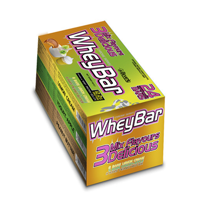 Whey Bar - YogurA72:F81t (45 gr. 12 gr. prot. / bar) - Beverly - 24 barritas
