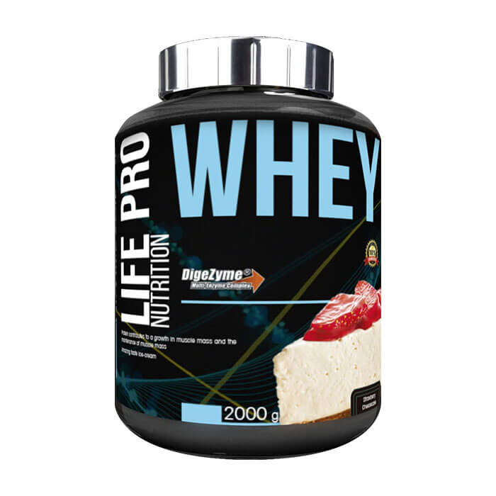 Whey New Ciannamon Roll - Life Pro Nutrition - 2 kg.
