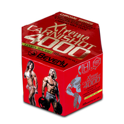 Xtreme Carnishot 4000 - Lemon - Beverly - 18 Shots 30 ml.